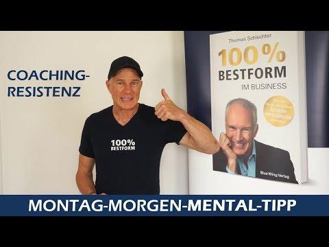 "Mental Tipp ""Coaching Resistenz"""
