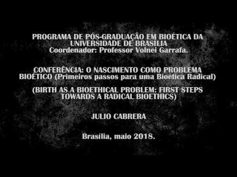 Julio Cabrera - Radical Bioethics (subtitled)