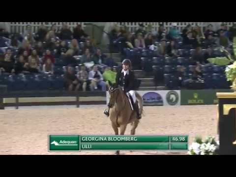 Winning Ride: Georgina Bloomberg and Lilli - $127,000 Adequan® Grand Prix CSI 3* at 2015 WEF