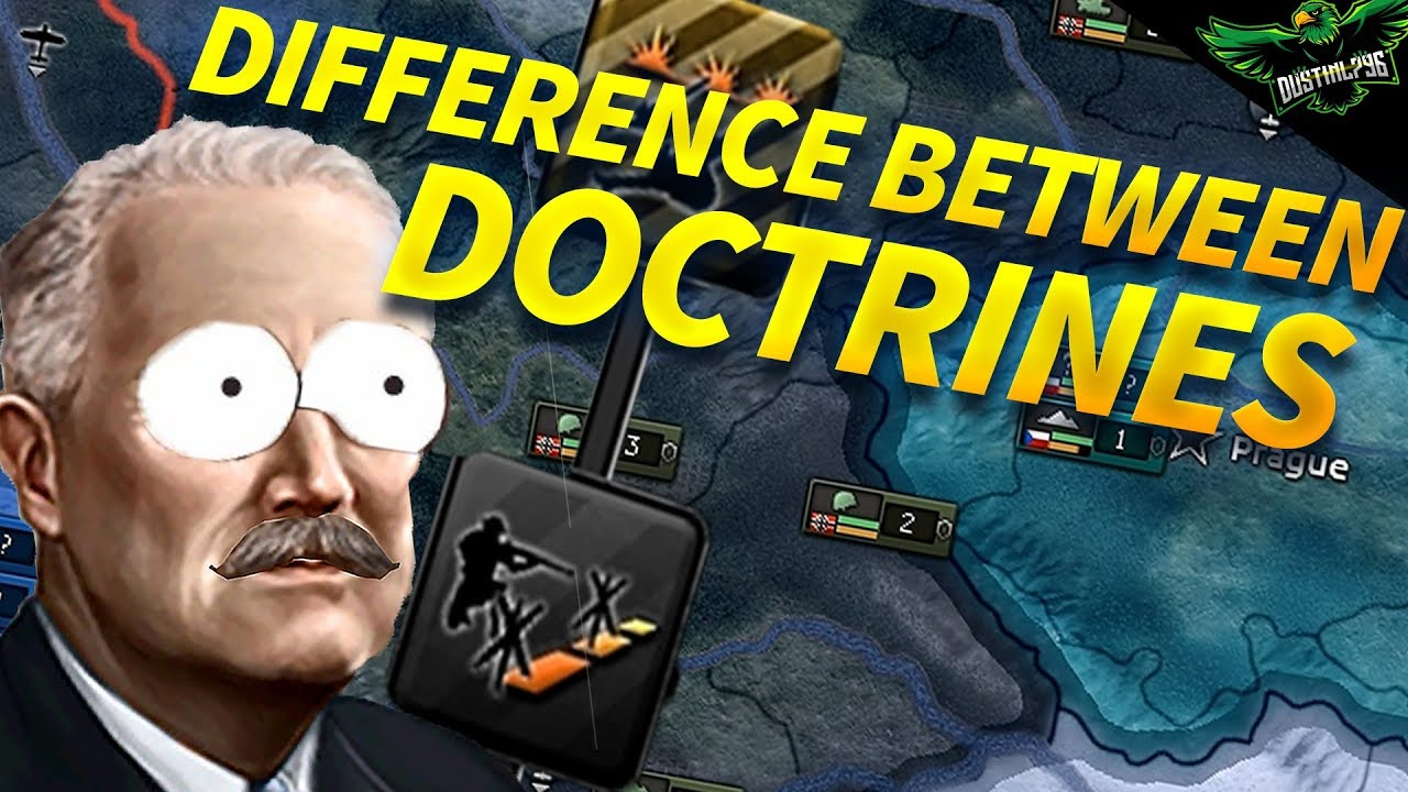 HOI4 Differences Between Land Doctrines (Beginners guide to Hearts of iron  4 Army doctrines)