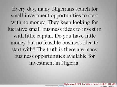 Top 40 Lucrative Businesses In Nigeria (Africa) This Month + Small Scale Business Ideas