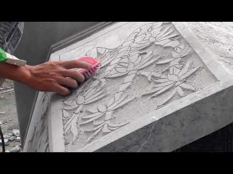 Amazing Stone sculpture by hand machine - real magic of the hand