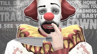 The Sims 4 : TRAGIC CLOWN(Woo! Sunny is back and creepier than ever. I thought it'd be fun to just head into the game and see what the tragic clown came with. I did miss one feature which ..., 2016-04-24T17:17:45.000Z)