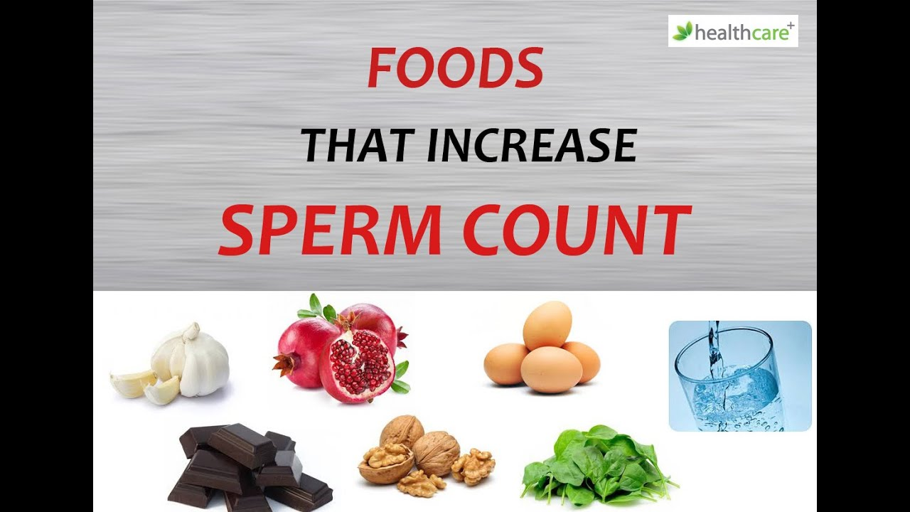 Like Foods that can add sperm count