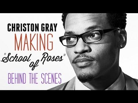 "Christon Gray (@christongray) -- Making ""School Of Roses"" (Behind the Scenes @collisionrecs) @P4CM"
