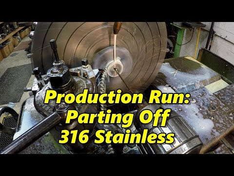 SNS 182: Parting 316 Stainless, Shop AC, Broken Bolt Removal