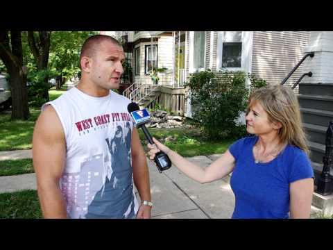 DAMIAN GRABOWSKI POLVISION INTERVIEW IN CHICAGO