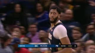 New York Knicks vs New Orleans Pelicans | November 16, 2018