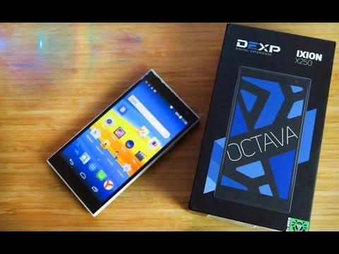 DEXP Ixion X250 OctaVa С мощным АКБ - Обзор