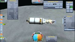 RCS Only Munar Lander for 3 - Budget Cuts Part 5 - Kerbal Space Program