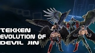 Tekken - Evolution Of Devil Jin 2004 - 2017
