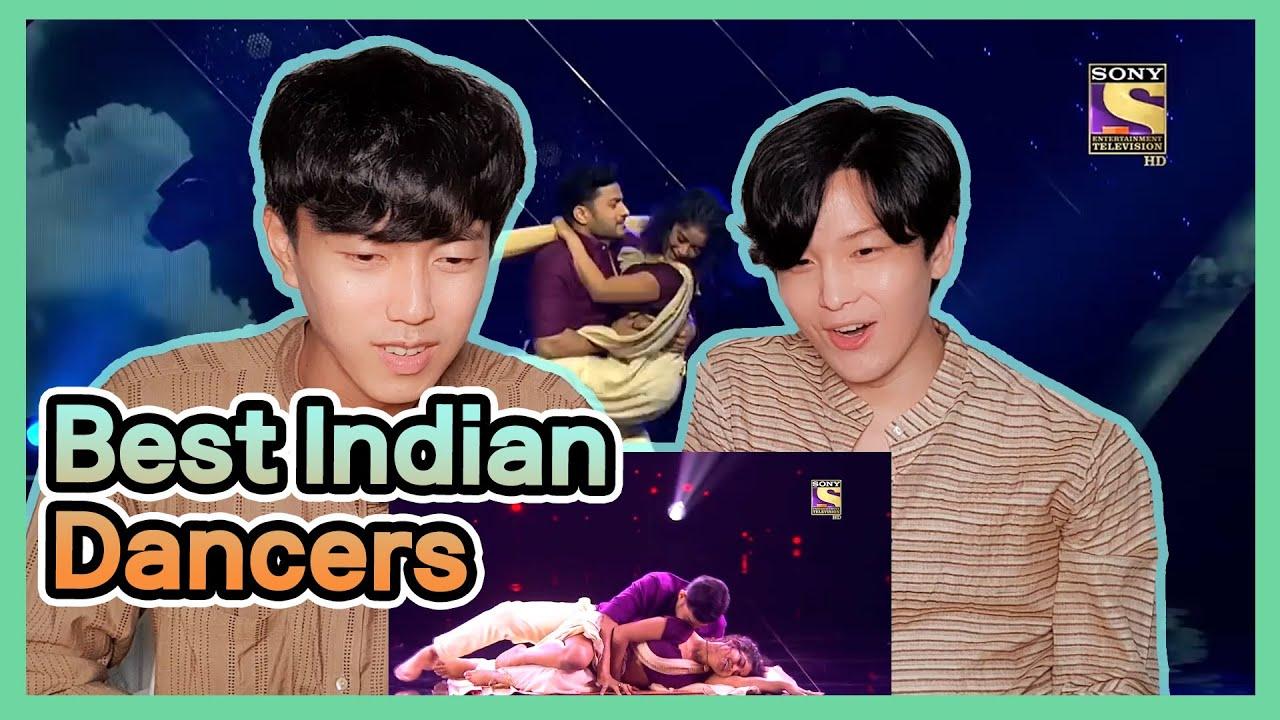 Korean Reacts to 【India's Best Dancer】   Sadhwi और Himanshu के Dance ने बनाया एक