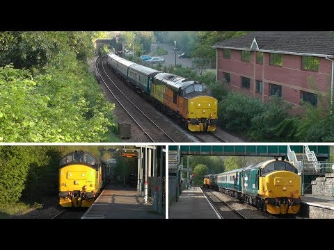 Class 37/4's Return to the Valley's