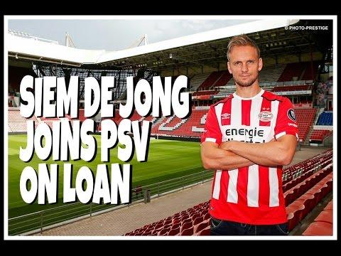 Siem De Jong leaves Newcastle United for PSV on loan