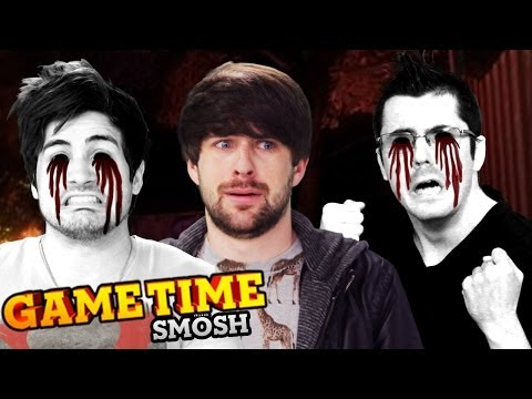 SO SCARED WE HURT OURSELVES - OCULUS RIFT AFFECTED (Gametime w/ Smosh Games)