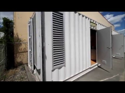 3 Person Container Accommodation