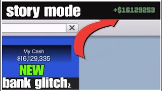 GTA 5 *NEW* STORY MODE (Bank glitch) Million in 1 Min (easy to do) Ps4/Xbox/pc