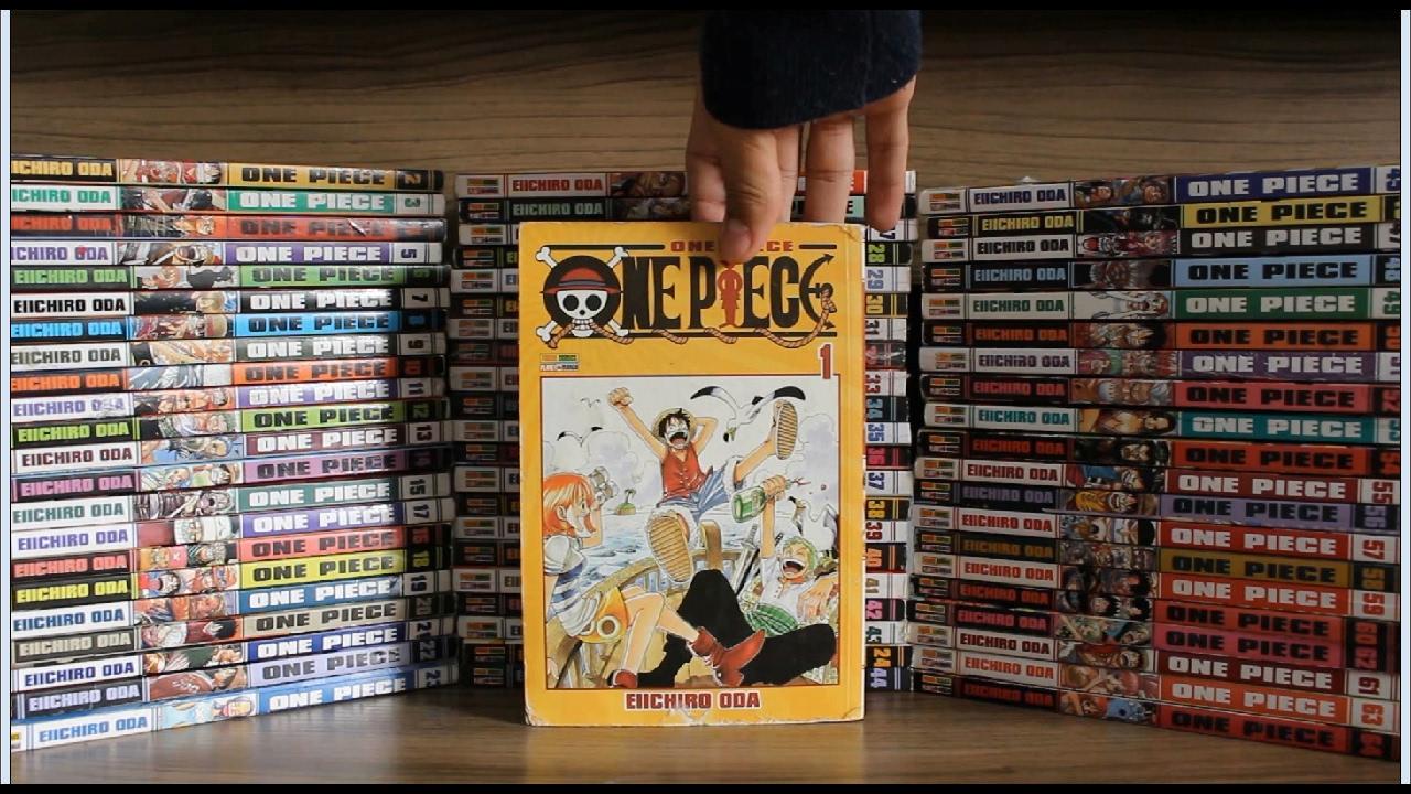 Coleção Mangá One Piece 1 ao 64 - Panini - YouTube