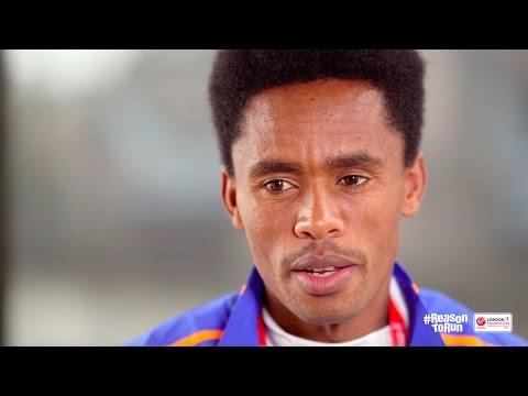 'I'm not nervous' - Feyisa Lilesa ahead of Virgin Money London Marathon