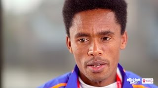 """I'm not Nervous"" - Feyisa Lilesa Ahead of  Virgin Money London Marathon 2017"
