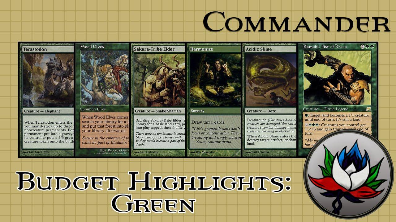 Best Green EDH/Commander Cards for Under $5 – MTG!