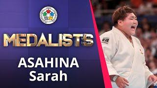 ASAHINA Sarah Bronze medal Judo World Championships Senior 2019