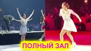 Волшебное выступление Загитовой 70 000 рублей билет но зал полный