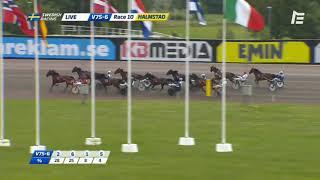 Vidéo de la course PMU PRIX HALMSTAD KOMMUN - STOSPRINTERN, FINAL