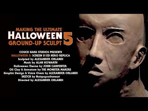 Michael Myers Sculpture Timelapse Documentary - Halloween FULL VERSION DIY TUTORIAL
