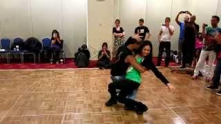 Lidio Freitas & Monique Marculano Freitas - Samba De Gafieira Workshop Boston Brazil Dance Festival