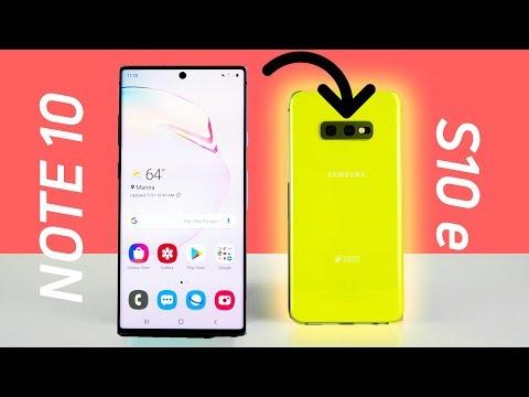 The Galaxy Note 10 makes me love the S10e