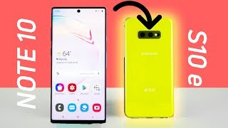 The Galaxy Note 10 makes me love the S10e even MORE ?