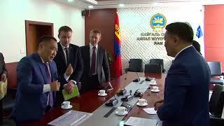 Визит главы Тувы в Монголию