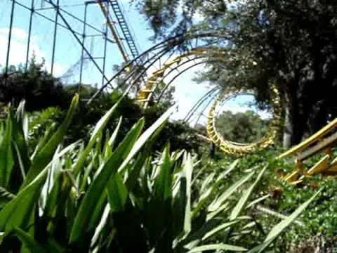 A Tribute to the Python roller coaster at Busch Gardens Tampa 1976-2006