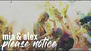 mia + alexander   please notice
