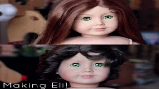 Making Eli (custom American Girl Boy Doll)