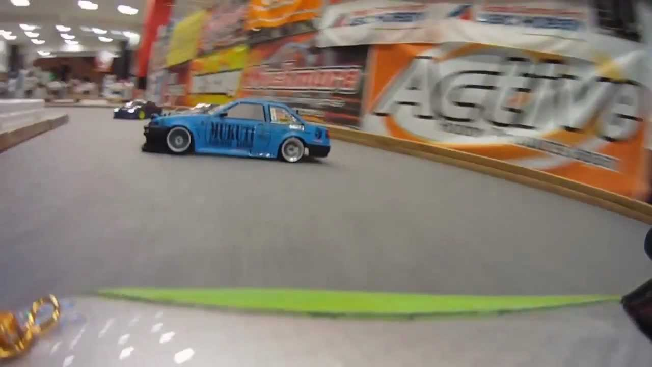RC CARS DRIFTING INTERIOR AND LITTLE PEOPLE INSIDE THESE