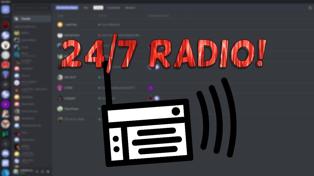 24/7 Radio in Discord erstellen!