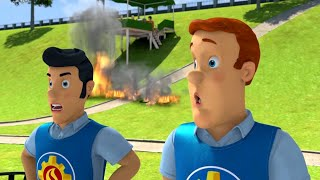 Fireman Sam US 🌟Fire on the Hills! 🔥Fireman Sam Best Saves 🔥Kids Movie