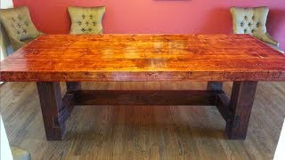 Do It Yourself Dining Room Table