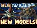 NEW SEA EMPEROR AND REAPER LEVIATHAN MODELS! | Subnautica News