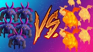 Minions vs Lava Pups | Legend of the Last Lava Pup???! | Clash of Clans