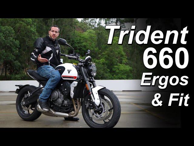2021 Triumph Trident 660 Ergonomics & Rider Fit