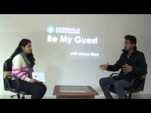 """""""Be My Guest"""" with Abdus Miya"""