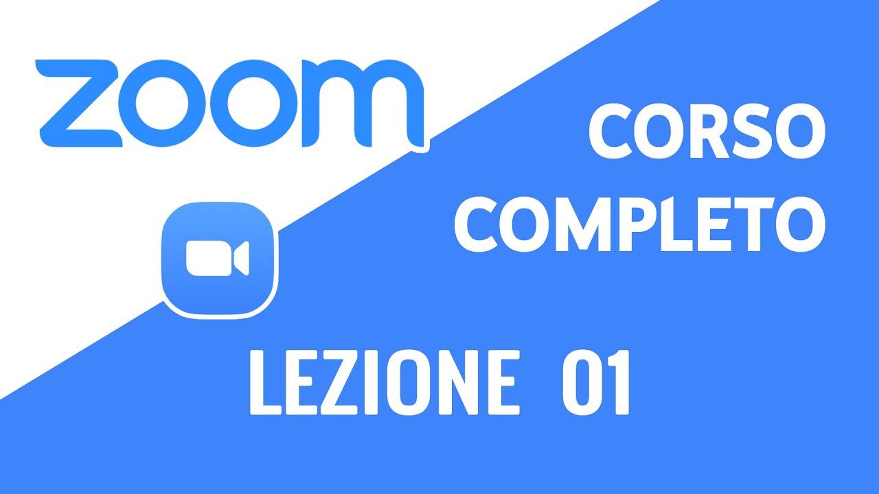 Lezione 01 | Zoom Meeting - Corso Completo