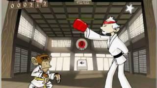 Karate monkey - www.gioco.im - play free games! [karate games monkey free online game]