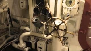 Достопримечательности Таллинна: морской музей в гавани. Подводная лодка