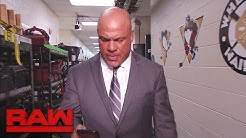 """Corey Graves and Kurt Angle have a """"private"""" conversation: Raw, June 5, 2017"""