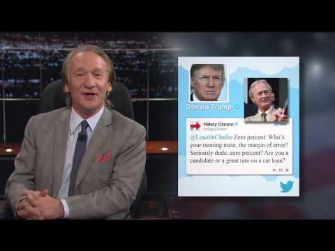 Real Time with Bill Maher: Hillary Tweets Like Trump (HBO)из YouTube · Длительность: 3 мин5 с