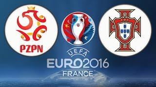 EUROCOPA 2016 POLÔNIA X PORTUGAL FIFA 16